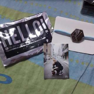 EXO Hello! Greeting Party In Japan Official Hair Band Set