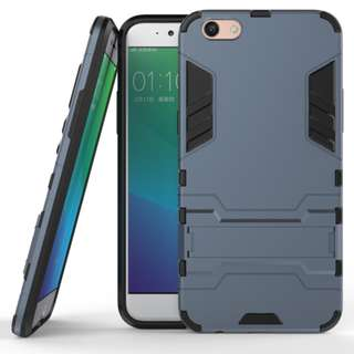 Oppo F1s/A59/A59s/R9s Iron Hard Man Armor Back Cover Case With