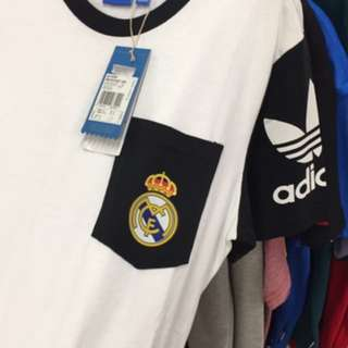 T-Shirt Kaos Adidas Real Madrid Original