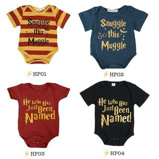 PO: Harry Potter Inspired Baby Apparel