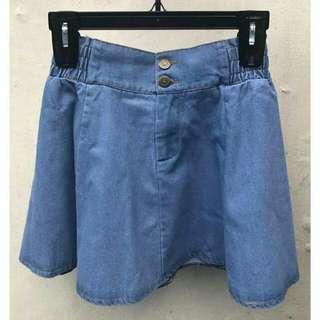 Trendy Maong Skirt