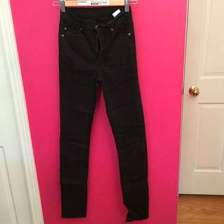 Cheap Monday Black Skinny Jeans 24