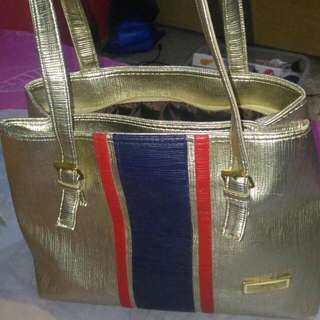 Hand Bag Silver