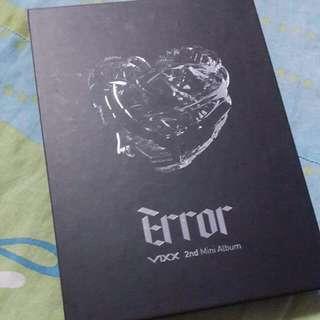 VIXX Error 2nd Mini Official Album