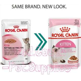 Royal Canin Wet Kitten in Gravy (Instinctive)