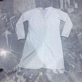 🌝 White Long Cardigan