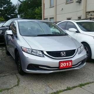 2013 Honda Civic LX  17.500KM
