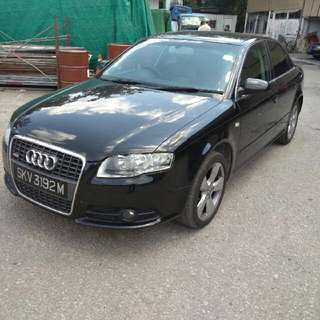 audi A4 1.8 turbo year 2006/2007 status SG excellent condition