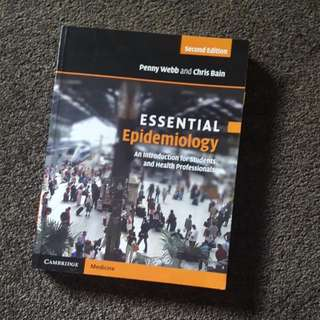Essential Epidemiology By Webb And Bain - Second Edition