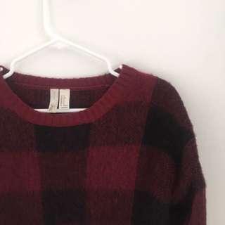 Plaid Comfy Sweater