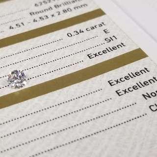 超值GIA 證書 30份閃鑽系列 ($3380~5180)包鑲包耳托
