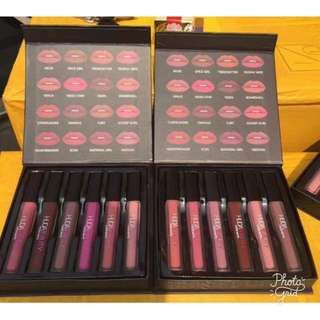 6pcs Huda Beauty Matte Liquid Lipstick