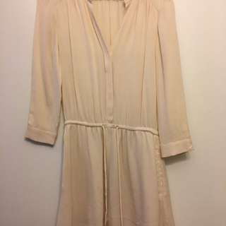 Aritzia Bennett Dress - XXS - Ivory/ Cream