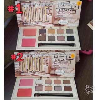 [CLEARANCE] Nude Naked Eyeshadow #1 / #2