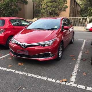 2017 toyota corolla sport auto