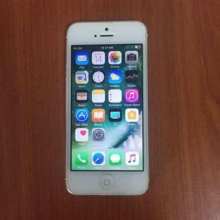 Iphone 5 (Silver) FullSet!!