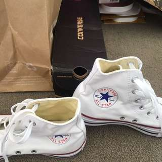 converse white all star