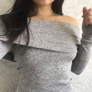 Forever New Off-shoulder Knit XS