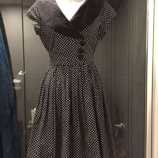 Retro Vintage Dangerfield Dress Size 8