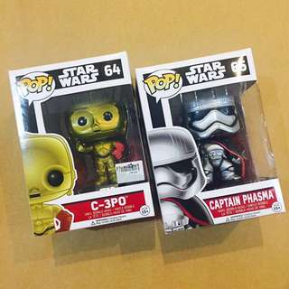 Star Wars POP Figurines