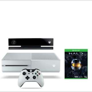 Selling Xbox One White Edition With Xtra Controller (With Kinect)