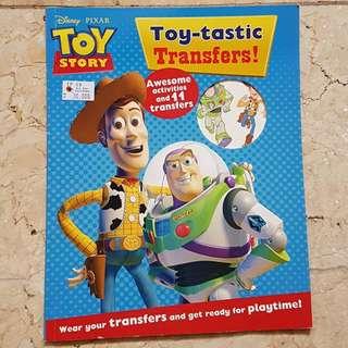 Disney Toy Story Activity Book