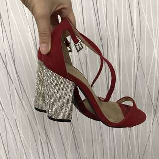 Parisian Red High Heels