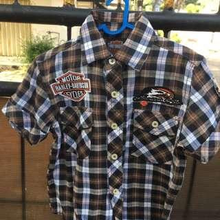 Preloved Kids - Kemeja Harley Davidson