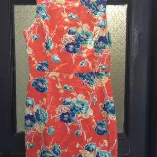 FOREVER 21 Orange Dress