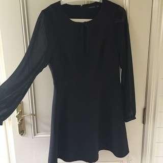 Portmans Mesh Sleeved Dress (Brand new!)
