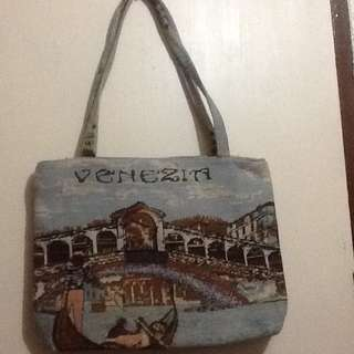 Souvenir Tote Bag from Italy