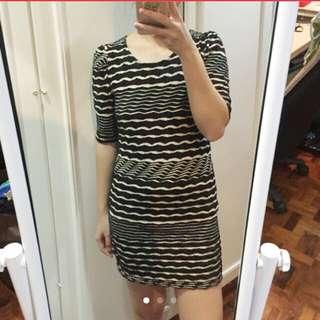ZARD Striped Dress
