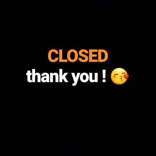 CLOSED!