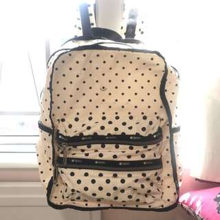 Like New Lesportsac Dotty Backpack