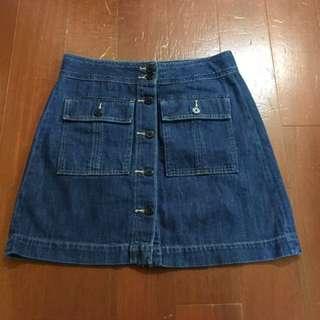 Gap牛仔短裙28號
