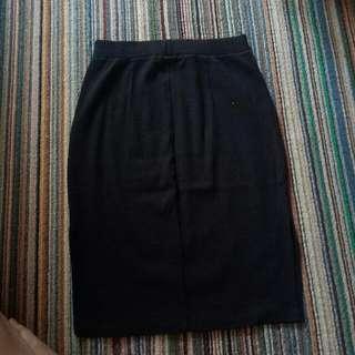Span Skirt Black