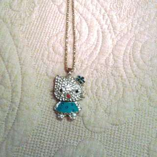 Hello  Kitty necklace with crystals