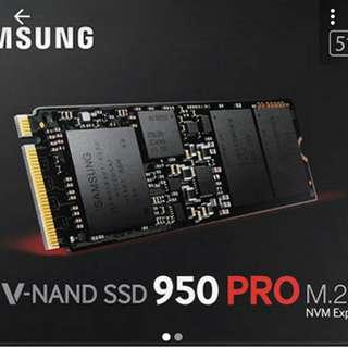 Samsung 950 Pro M.2 Nvme 512gb