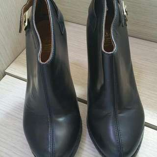 Dr Martens 黑色 Ankle Boot 二手 Us6 High Heel 高踭
