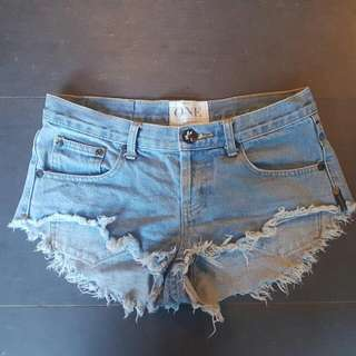 Oneteaspoon Denim Shorts