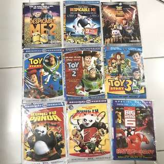 Kaset Dvd Anak Kartun