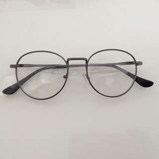 Vintage Gunmetal Gray Glasses