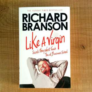 Like A Virgin - Richard Branson Book