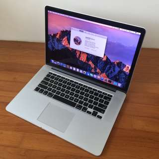 16GB 512GB Core i7 Retina 15-inch MacBook Pro