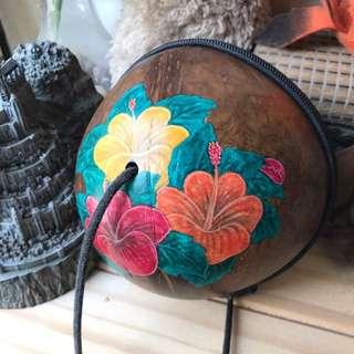 椰子包 可斜背 肩背