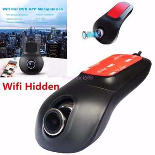 1080P Car DVR Camera Hidden WIfi Dash Camera Vehicle Video Recorder Night Vision