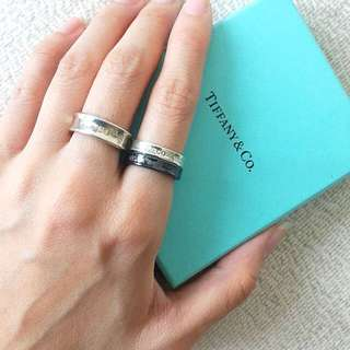 AUTHENTIC TIFFANY & CO 1837 Band / Stacking Ring