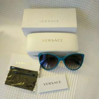 Versace Turquoise Sunnies