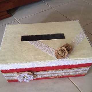 Handmade Wedding Angbao Box