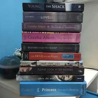 Random Books For 100php Each